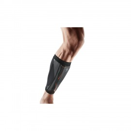 Espinillera Shock Doctor Runner's Therapy Negro