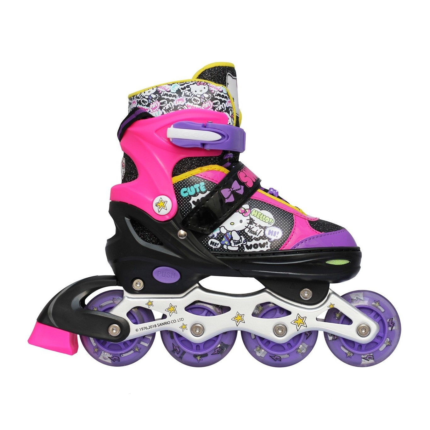 Patines Powerslide Phuzion Argon Trinity Women 110mm (Sobre Pedido)