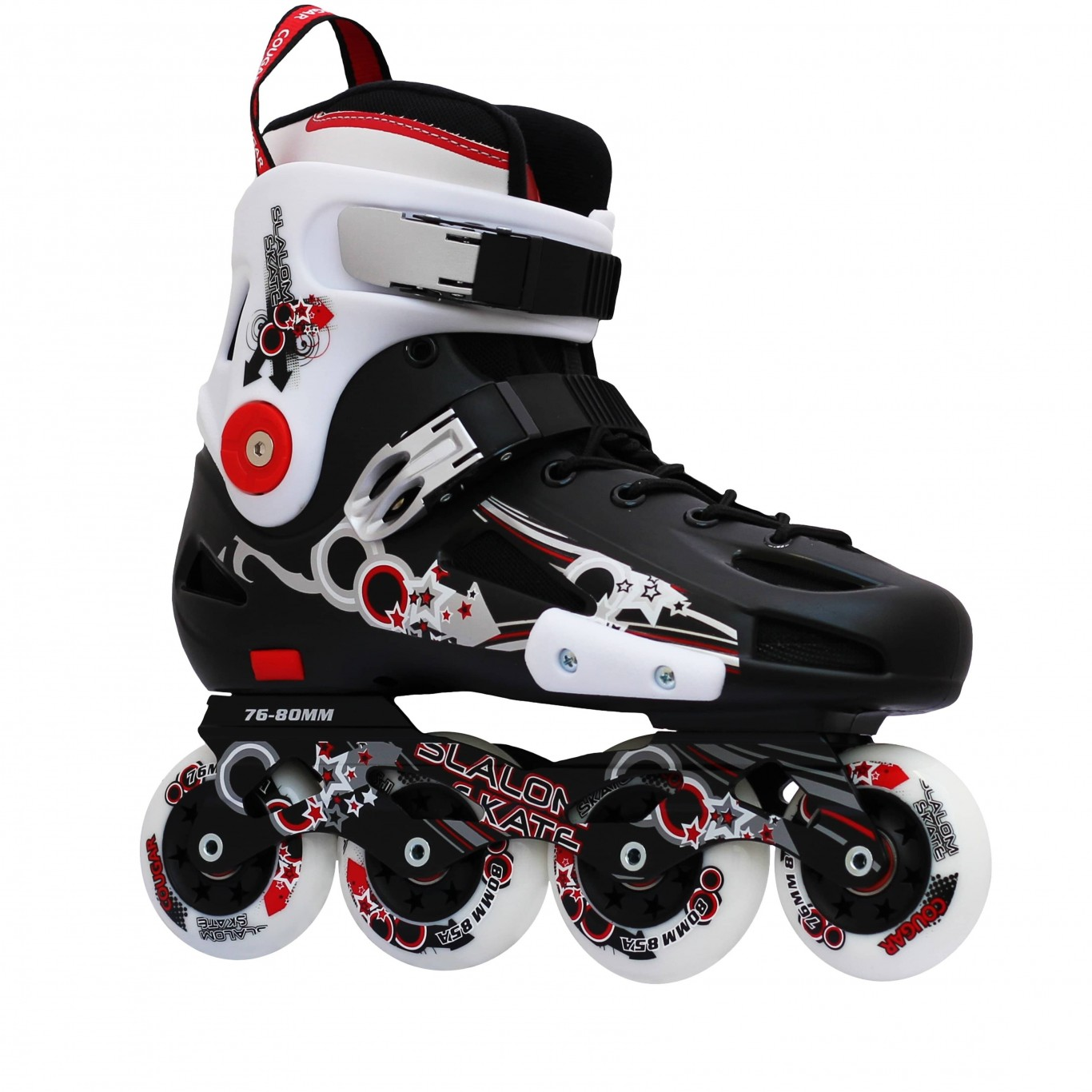 Patines Cougar FSK Negro/Blanco