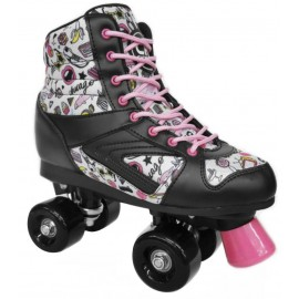 Patines Chicago YX-0144 BlacK/Pink