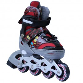 Patines Ajustables The Simpsons Red