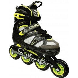 Patines Ajustables Chicago Neon Green