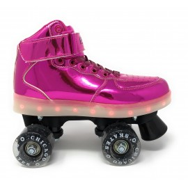 Patines Chicago Pulse Light Up Pink