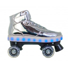Patines Chicago Pulse Light Up Silver