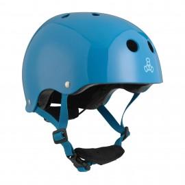 Casco Triple 8 Lil 8 Multisport Helmet Blue Glossy