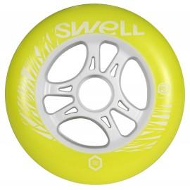 Ruedas Swell Yellow Flash 110mm (Por Pieza)