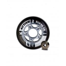 Ruedas K2 Active 76mm (8 Pack)