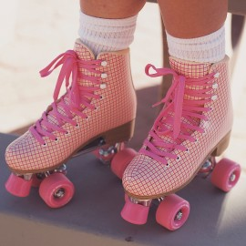 Patines Ajustables Cougar Cr 1 Arctic Pink