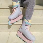 💦🧚♀️ Patines Impala Lightspeed Fairy Floss 🧚♀️💦  🎒Estos patines a parte de tener un diseño súper fancy son resistentes a cualquier idea que te pase en mente: skateparks, patinaje urbano, saltos, trucos, bowls, etc.🎒  💲💲Precios y detalles: https://centroroller.mx/patines/5183-7328-patines-impala-lightspeed-fairy-floss.html#/60-tallas_patines-23cm  ✨Tienda de patines en línea: www.centroroller.mx💻 📦Envíos a toda la República mexicana 🚫Aplican restricciones 🚫 🌎Comunidad Latinoamericana de patinadores: www.latinroller.com ✨