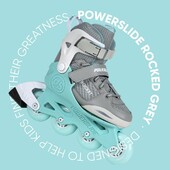 ⚡️Patines Ajustables Powerslide Rocket Grey⚡️  Gracias a su sencilla construcción, son unos patines muy ligeros, perfecto para niños  📍Tu sucursal en CDMX, Guadalajara y Monterrey 💻 Visita www.centroroller.mx 📦 Envíos a toda la República Mexicana