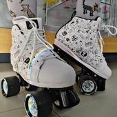 ✨Patines Chaya Vintage Sketch✨ Con ruedas para el exterior y un diseño increíble que jamás pasará de moda😎 .  ✨Tienda de patines en línea: www.centroroller.mx💻 📦Envíos a toda la República mexicana 🚫Aplican restricciones 🚫  #patines #quads #rollerskates #chayaskates #chayamx #vintage #sketch  #vint #centroroller